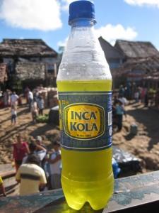 Inca Kola, schmeckt wie flüssiger Kaugummi und hat Kultstatus