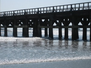 Pier in Puerto Chicama.