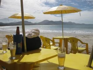 Probier´s mal mit Gemütlichkeit...am Strand von Barra da Lagoa im Süden Brasiliens