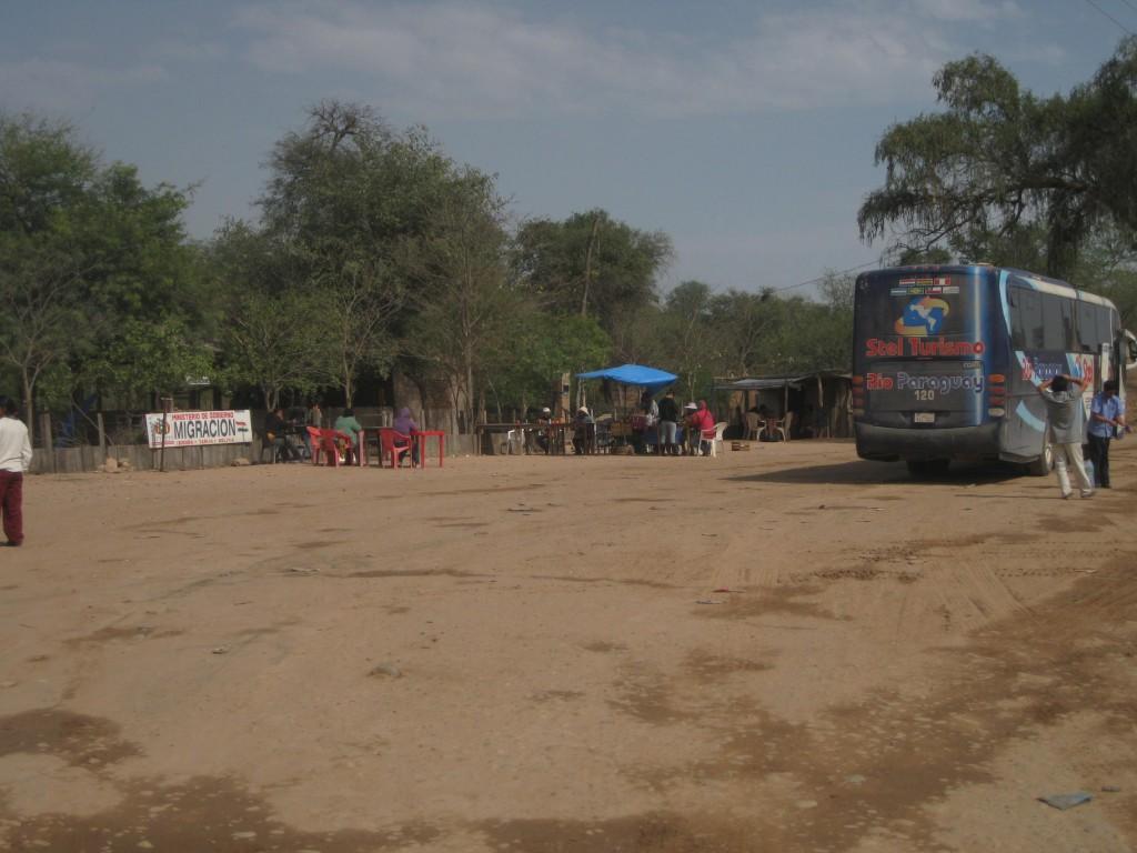 Der bolivianische Grenzposten im Chaco, Grenzgebiet zu Paraguay