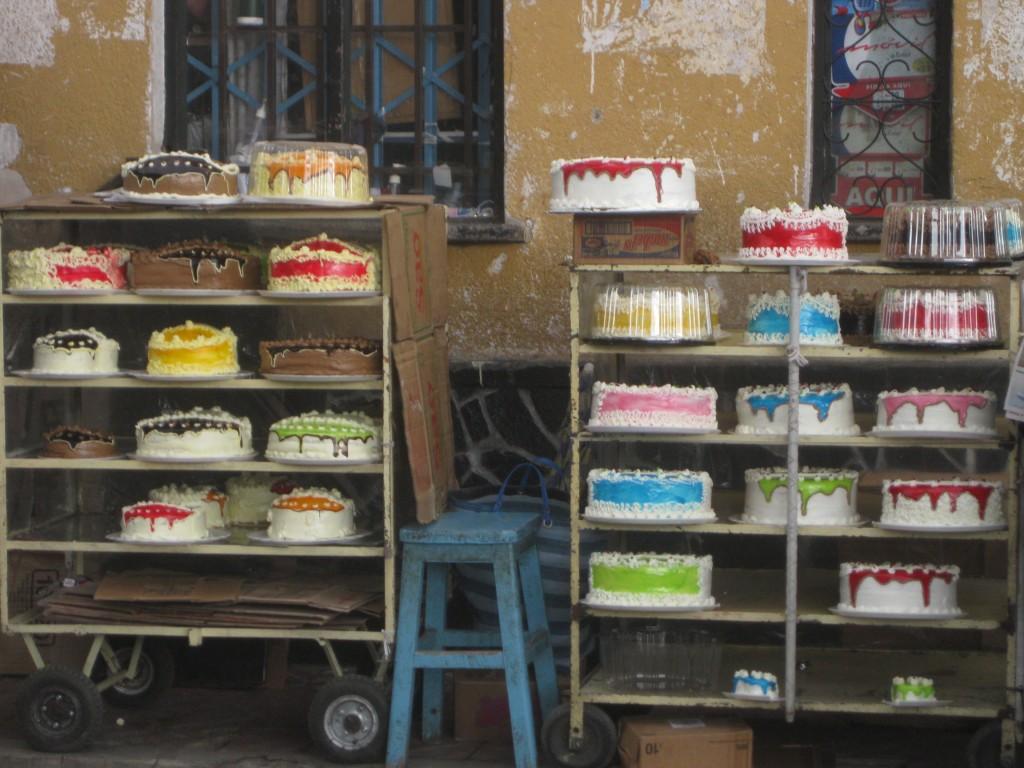 Auch Bolivien kennt Torten