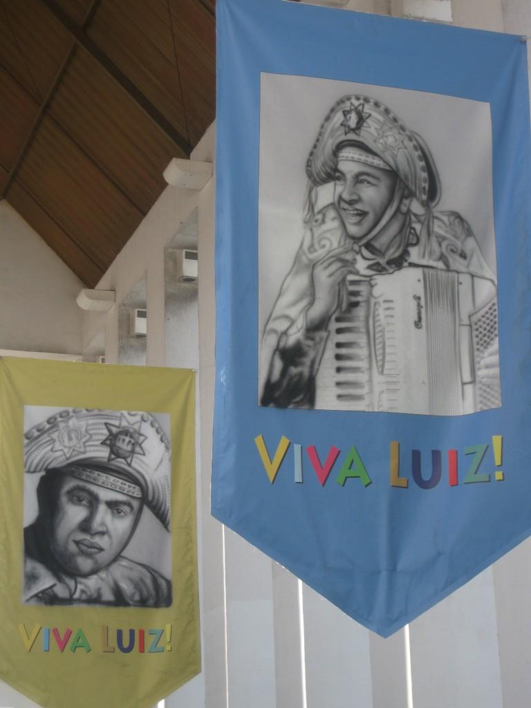 """Ausstellung zu Ehren des berühmten Musikers Luiz Gonzaga, """"O rei do baião"""" (""""Der König des Baião""""). In Fortaleza lebte ich zwei Monate und hatte Zeit, mehr über Brasilien zu lernen"""