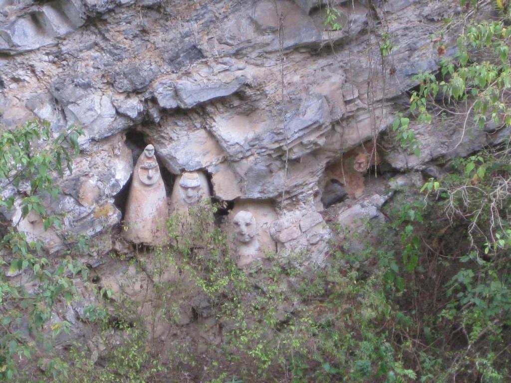 Die Sarkopharge von Sholón. Historische Stätten gibt es in Peru zuhauf