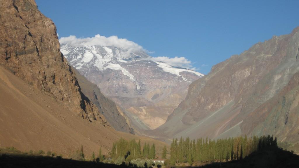 Mit meinem chilenischen Kumpel Patricio konnte ich das Valle del Maipo nahe der Hauptstadt Santiago de Chile besuchen