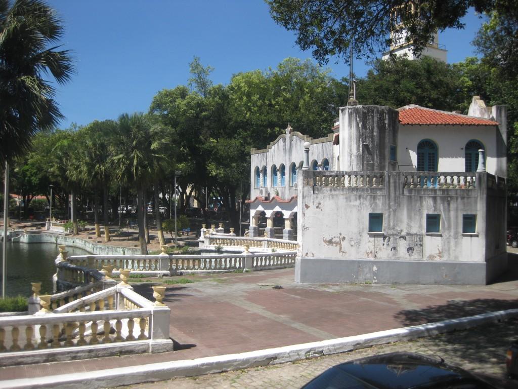 In Fortaleza gibt es nicht so viele pittoreske Orte wie diesen im Parque da Liberdade (Cidade da Criança) im Zentrum der Millionen-Metropole