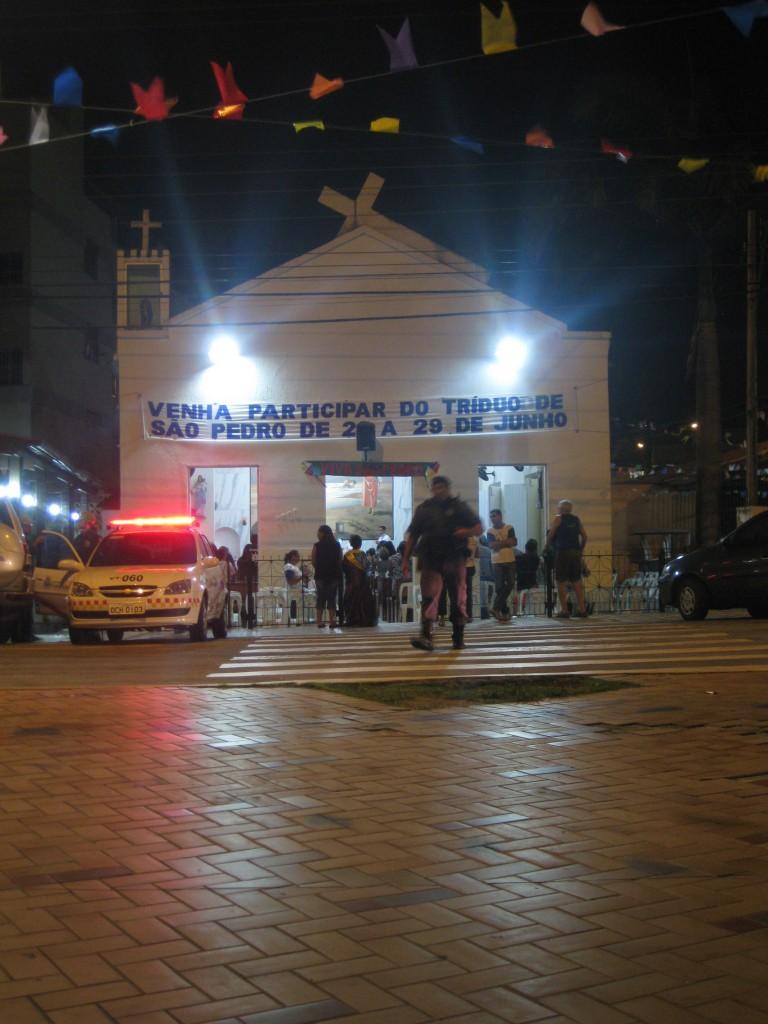 Die kleine, unter Denkmal-Schutz stehende Kirche der Fischer