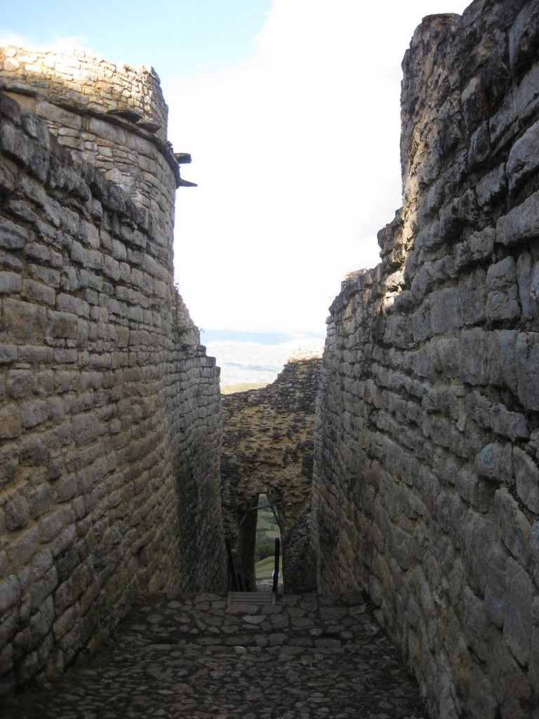 Der Haupteingang zur Ruinenstadt