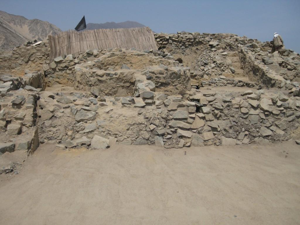 Templo de Altar Central, das Runde ist der Altar