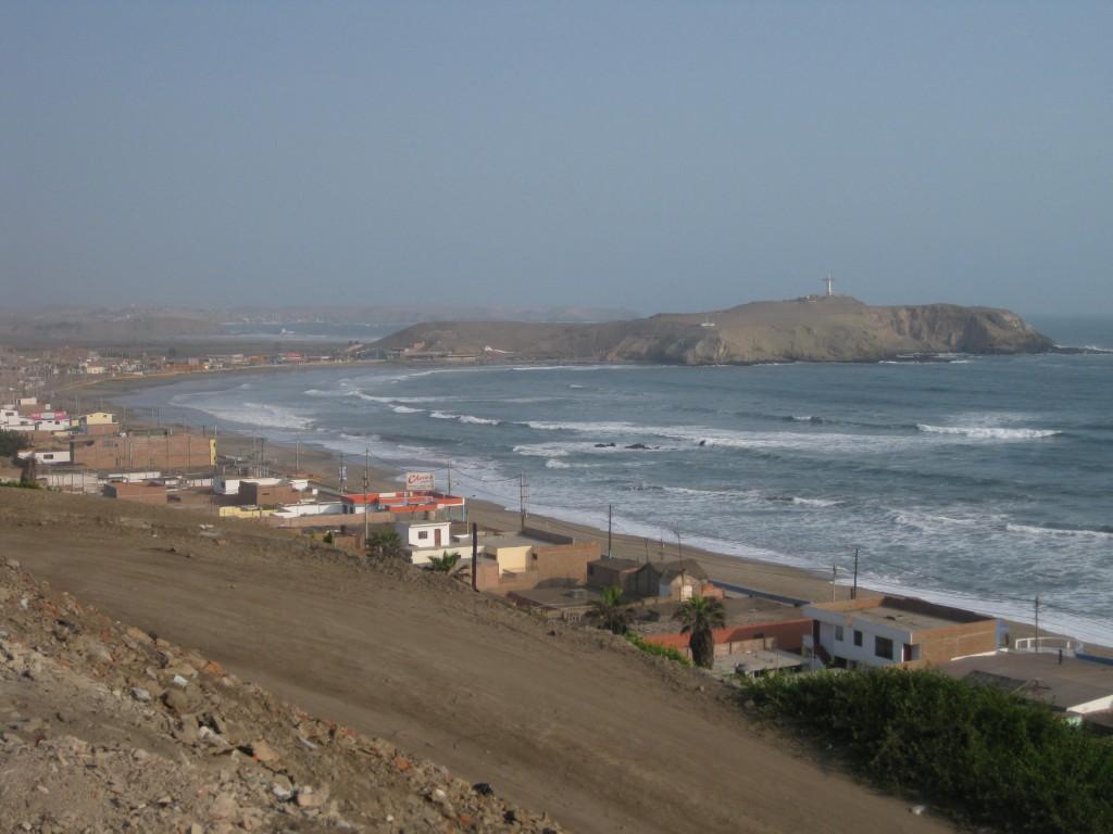 Der Strand von Barranca