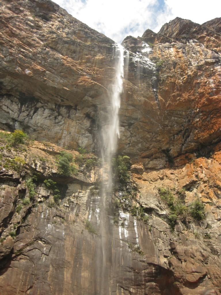 Der Wasserfall...