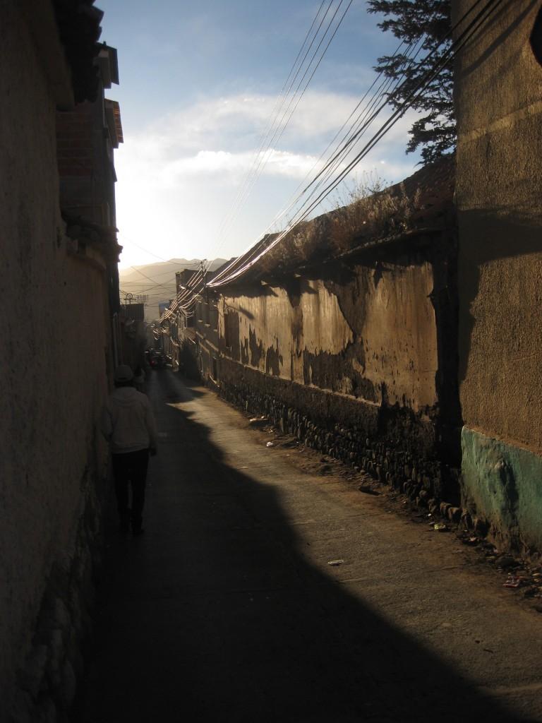 In Potosí geht's immer auf und ab