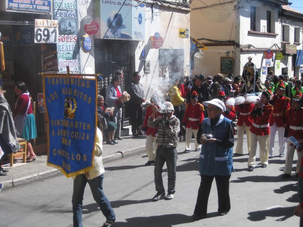 Bolivianische Straßen-Musik
