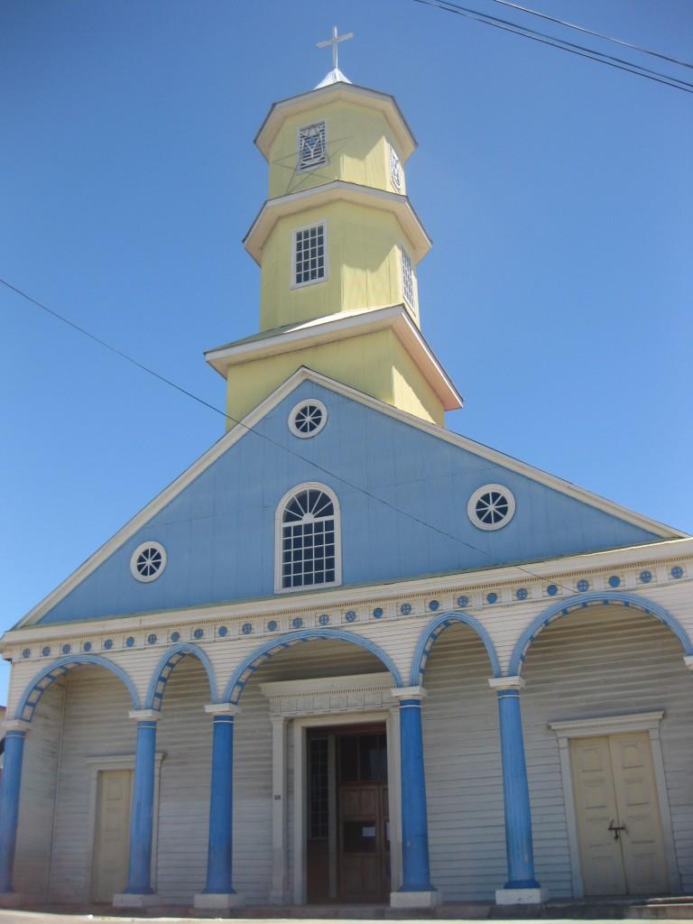 Die Holzkirche von Chonchi