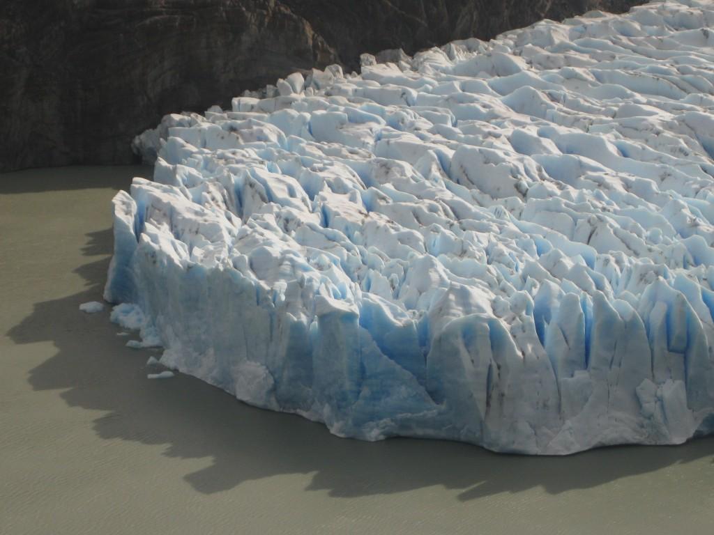 Sensationeller Blick, oder? Der Gletscher Grey.