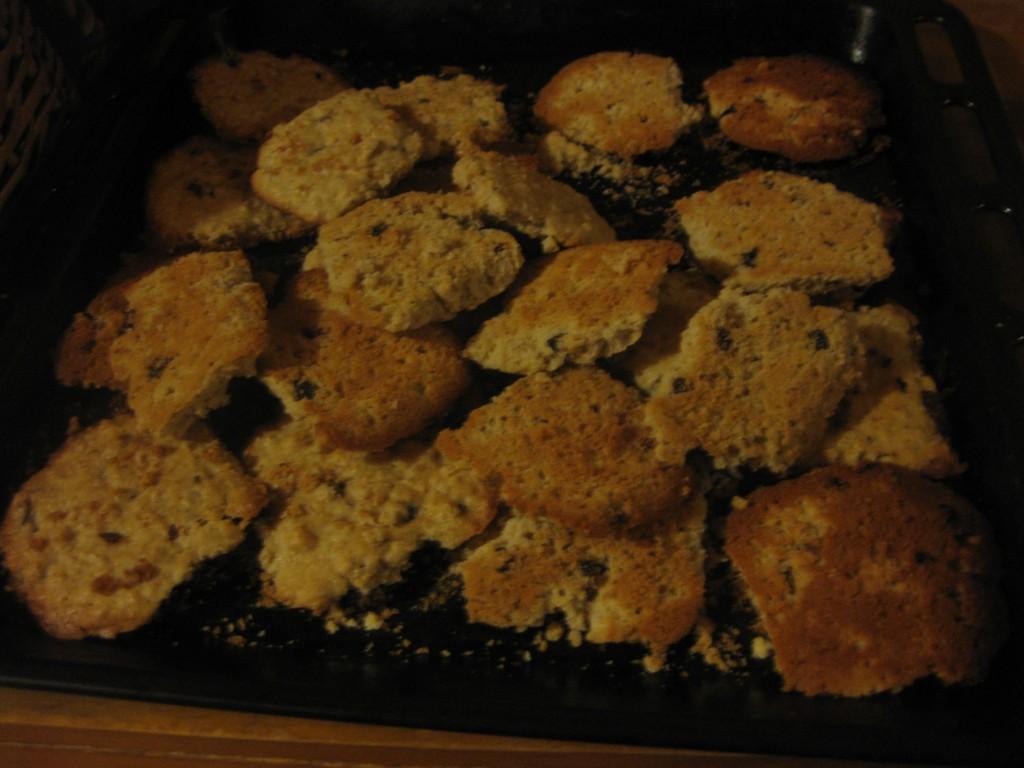 """Als Zugabe haben wir die sehr beliebten Quaker-Kekse """"nachgebacken"""""""