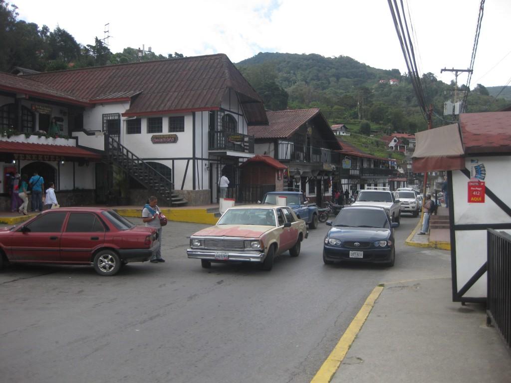 Noch eine Straßenszene aus dieser deutschen Kolonie in Südamerika