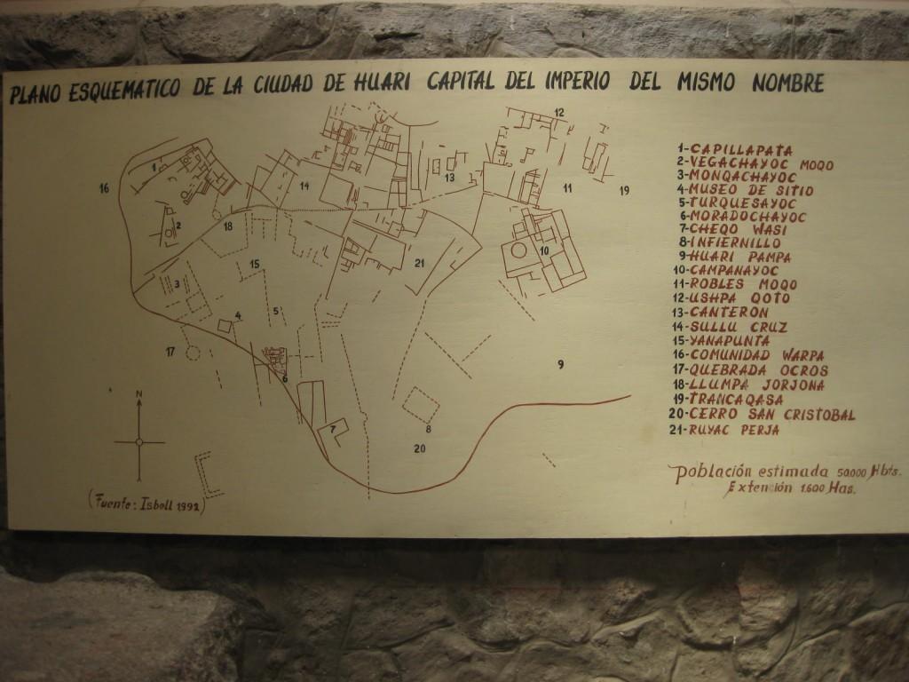 Ciudad de Huari (Wari-Ruinen)