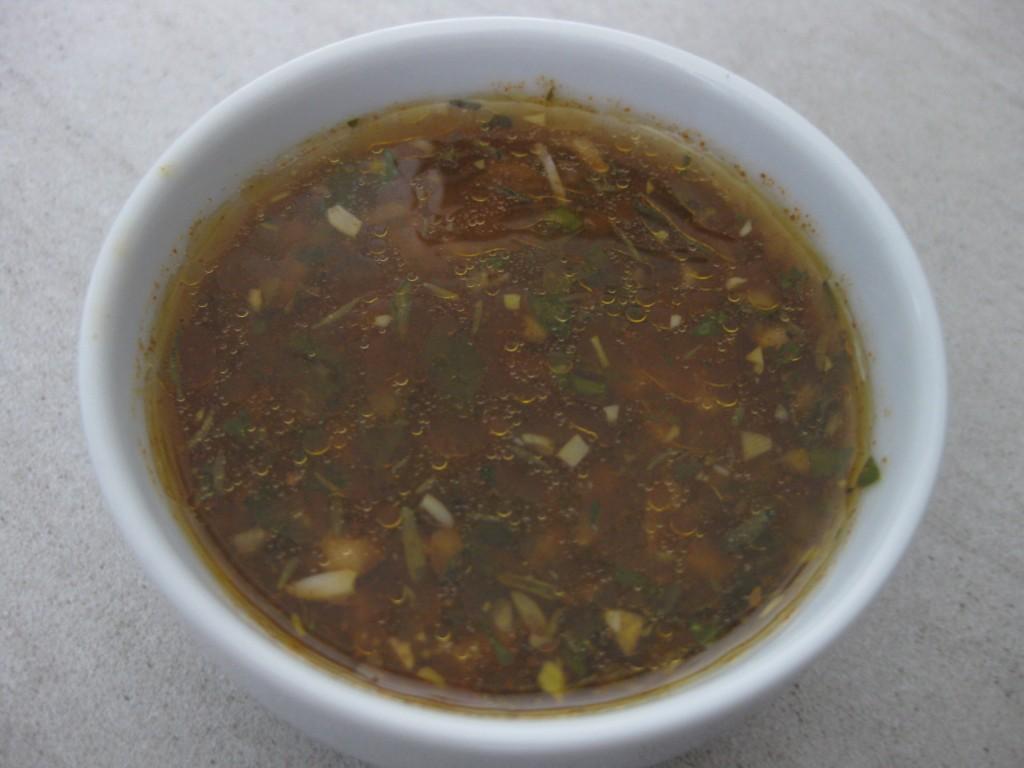 Original-Rezept Grillsauce Chimichurri von einem Weltumsegler aus Uruguay...und nicht aus Argentinien  (hier nachgekocht von ulmi)