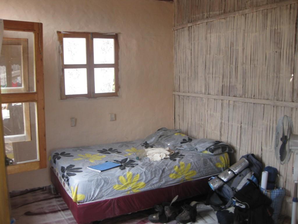 Unterkünfte Südamerika: Nur ein paar Dollar Kosten und man bekommt in Montañita, Ecuador, ein lässiges Zimmer.